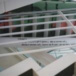 NTT docomo, sapporo office, stairs #1, 1996